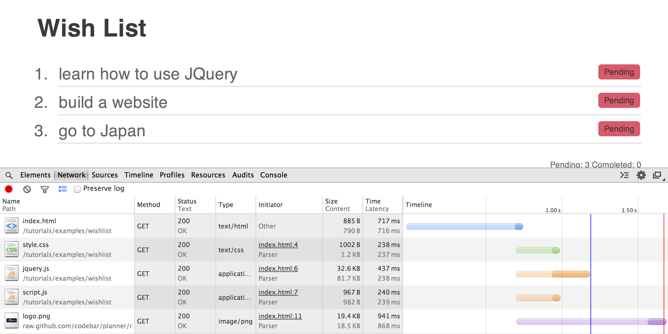 HTTP Requests, AJAX and APIs